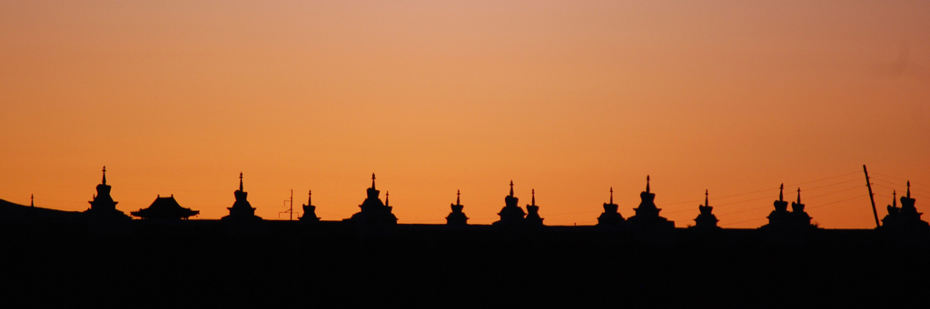 Cérémonie bouddhiste privée à Erdene Zuu