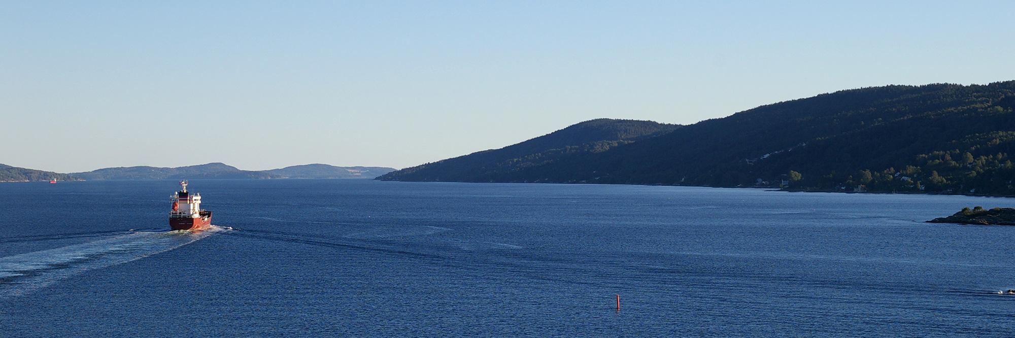 Croisière dans le fjord d'Oslo