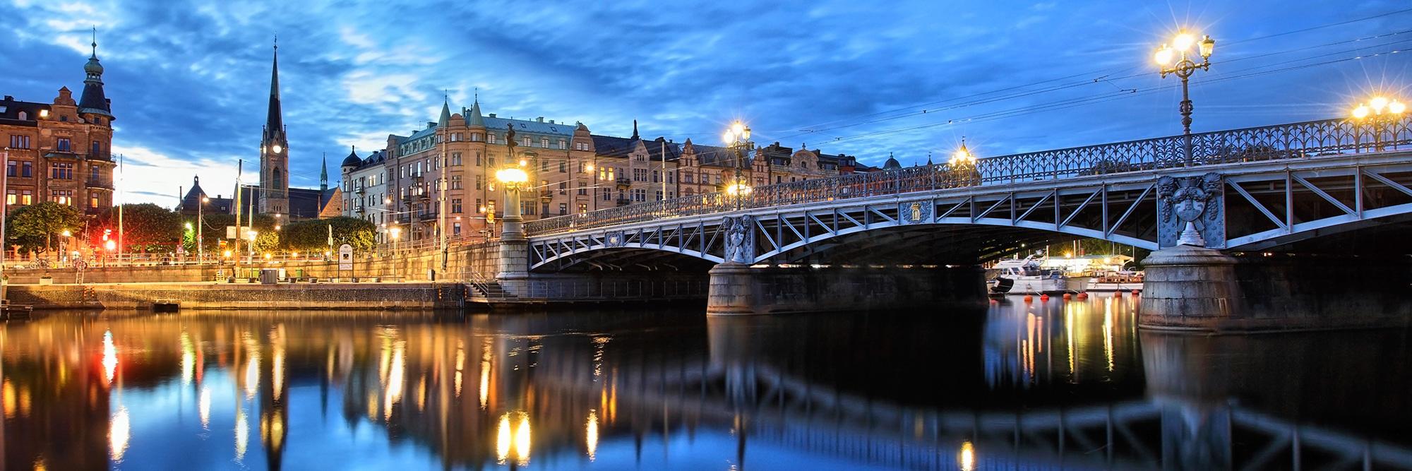 Croisière sous les ponts de Stockholm