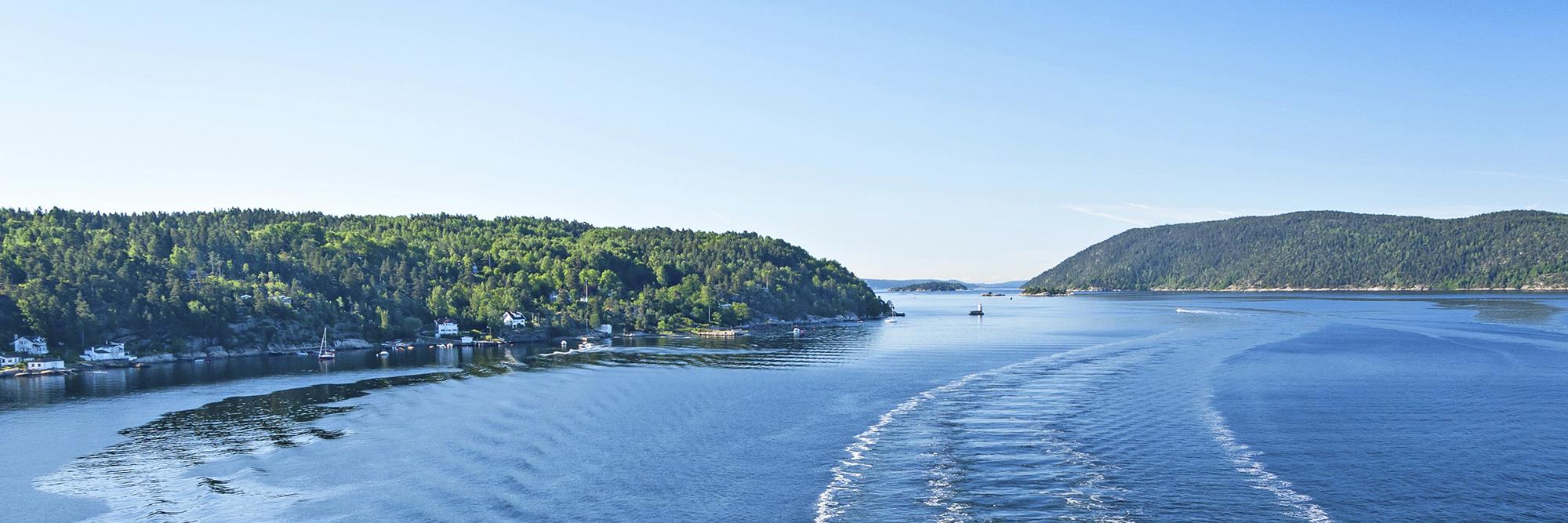 Le fjord d'Oslo en Zodiac
