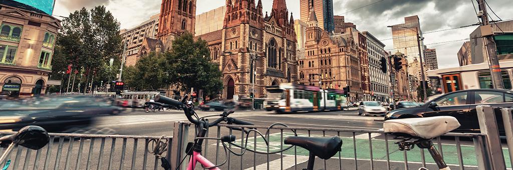Melbourne à vélo !