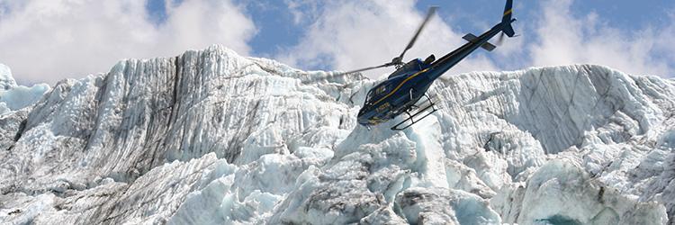 Survol en hélicoptère du sud groenlandais