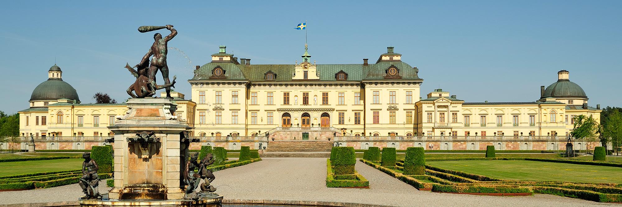 Visite du site de Drottningholm