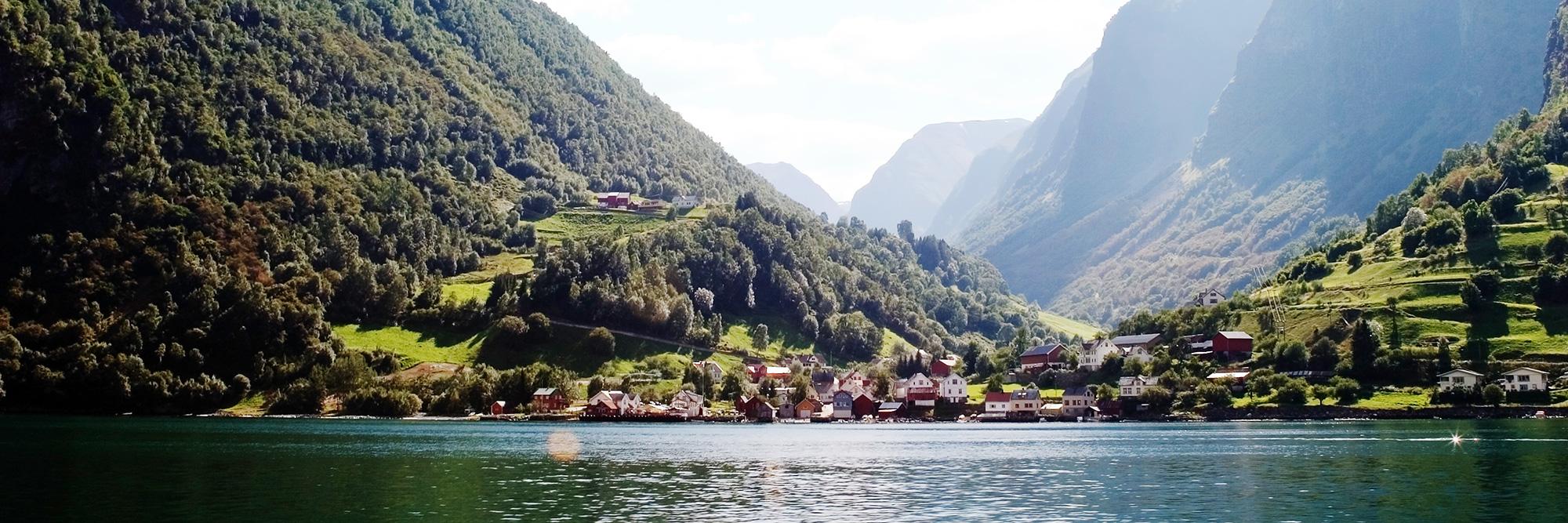 Zodiac sur le Nærøyfjord !