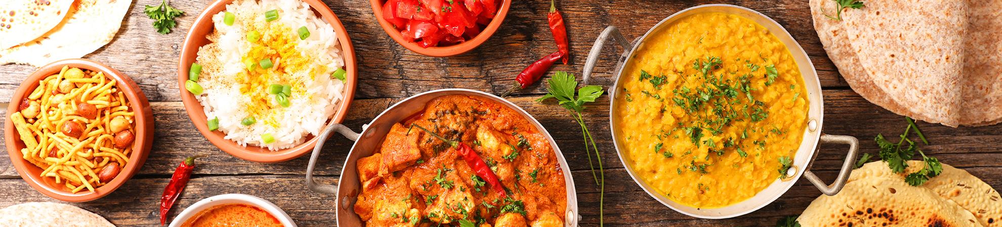 Les spécialités culinaires en Inde