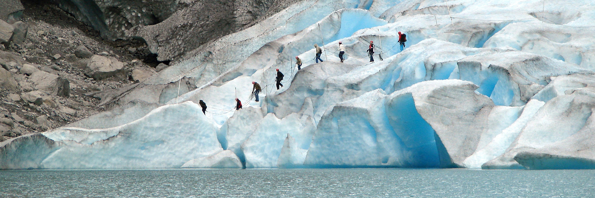 Glacier Jostedalsbreen (Parc National Jostedal)