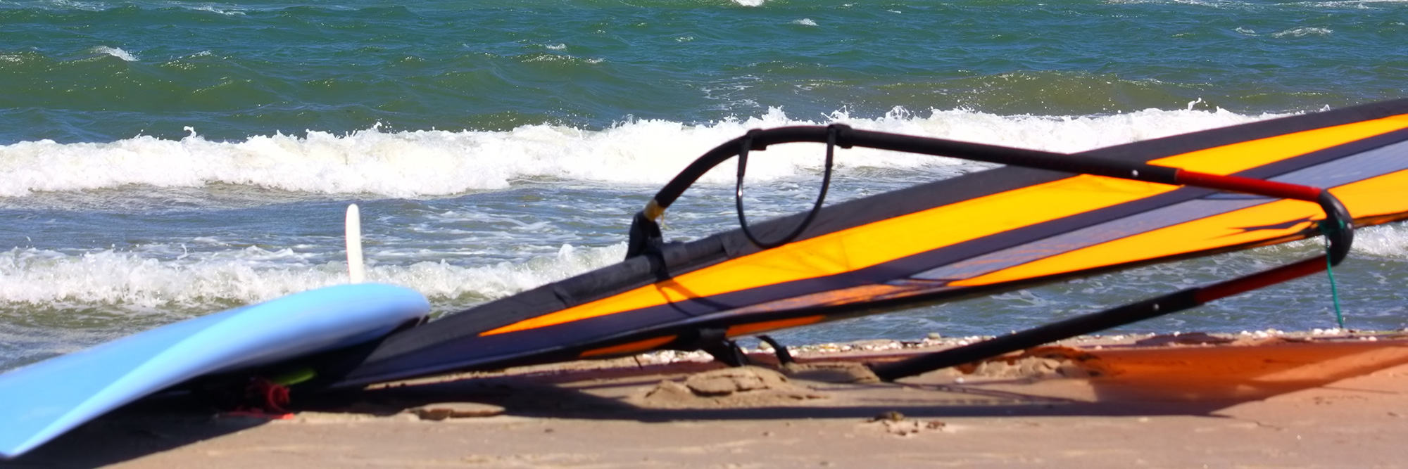 Initiation au windsurf
