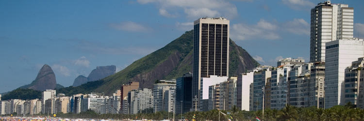 Le centre ville de Rio