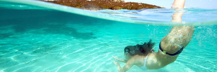 Activités les pieds dans l'eau