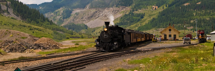 Prenez le Durango Silverton Train