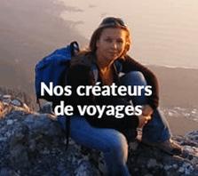 Nos créateurs de voyages