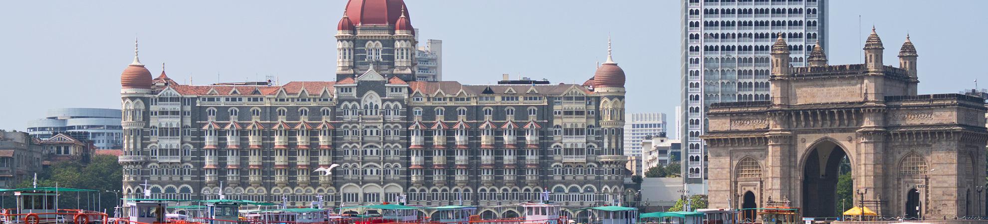 Les hôtels en Inde