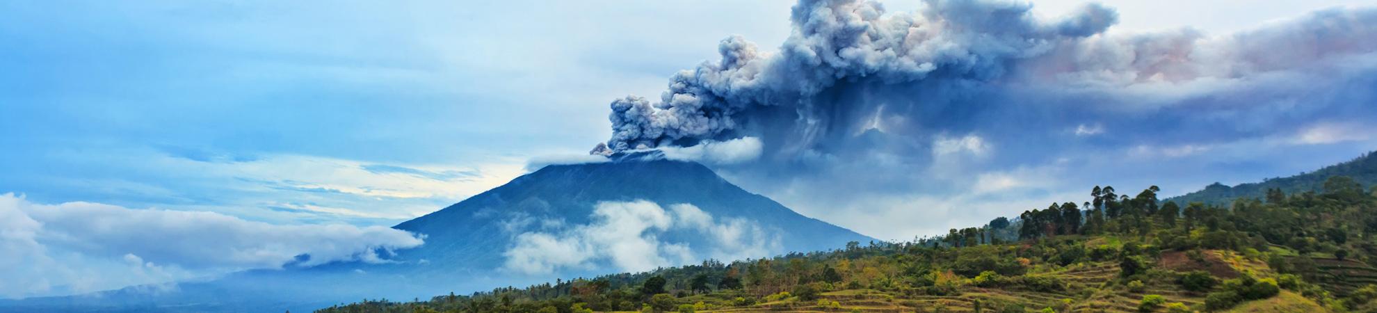 Les risques naturels à Bali