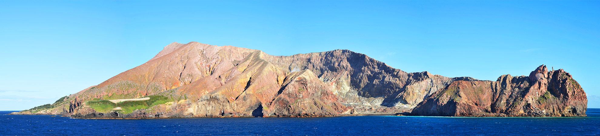 L'île volcanique de White Island