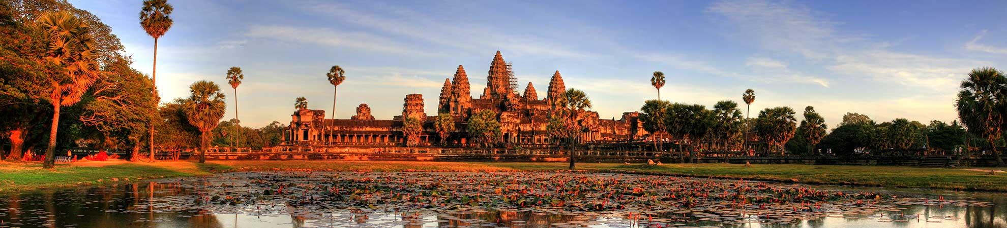 Phnom Penh et les temples d'Angkor