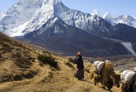 Népal : Au pied de l'Everest