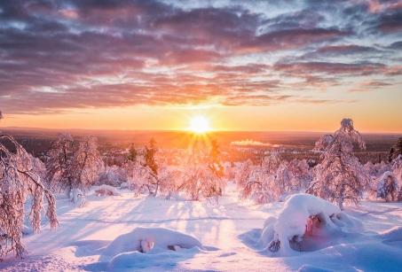 Beauté sauvage de la Laponie suédoise