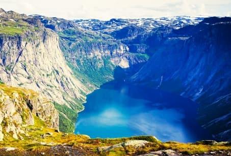 Tous à l'eau dans les fjords !