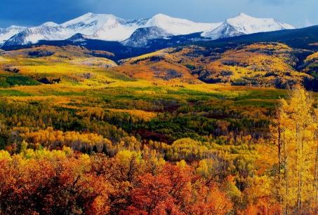 Les sommets du Colorado