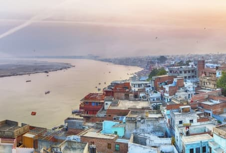 Du Désert aux rives du Gange