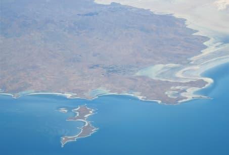 La mer Caspienne en famille