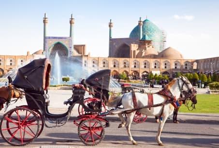 Un conte oriental en Iran, Turkménistan, Ouzbékistan