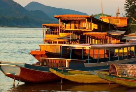 Le Laos en longeant le Mékong