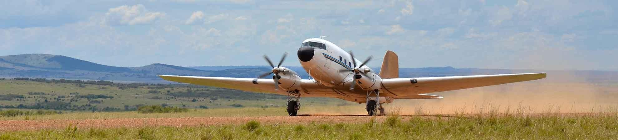 Nos vols internationaux en Afrique