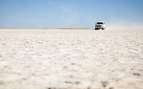 activity Parcourir le Pan de Makgadikgadi
