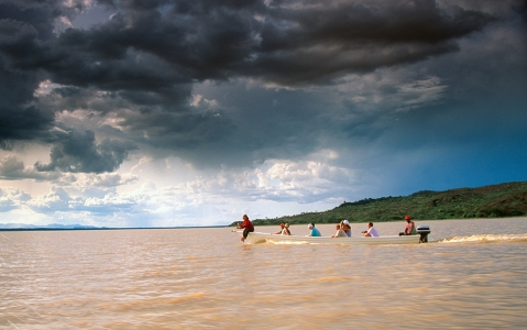 activity Balade en Bateau sur le Lac Baringo
