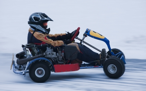 activity Karting sur glace