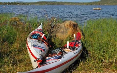 activity Kayak dans le Fjærlandsfjord