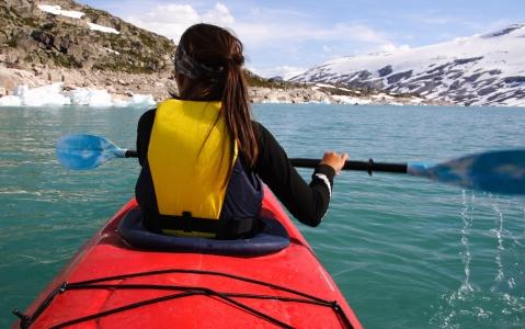 activity Kayak dans les Lofoten