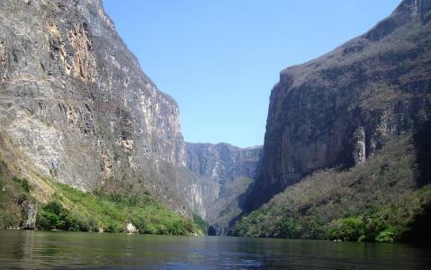 activity Le Canyon du Sumidero