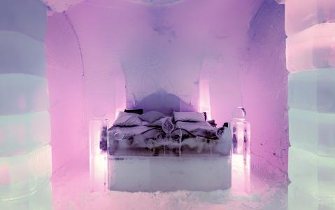 activity Nuit dans un hôtel de glace