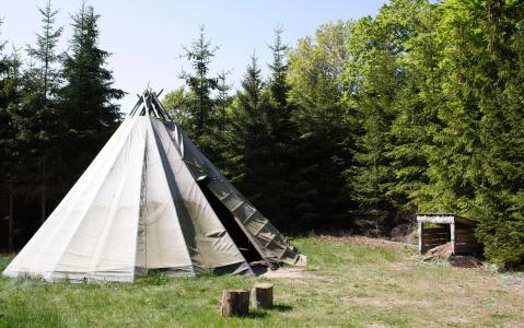 activity Nuit dans une tente samie