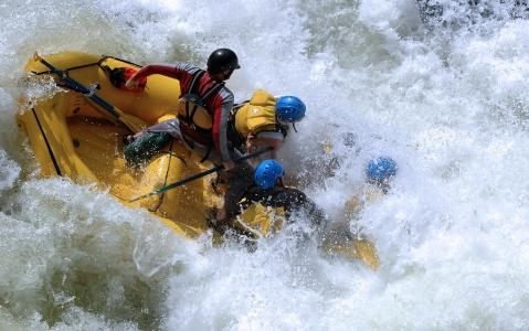 activity Rafting à Voss