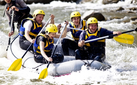 activity Rafting dans la région du Kamchatka