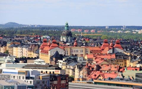 activity Stockholm depuis les toits de la ville