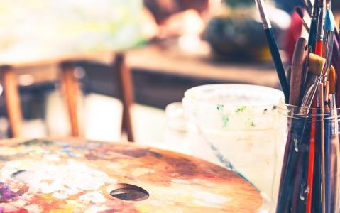 activity  Atelier de peinture en sable