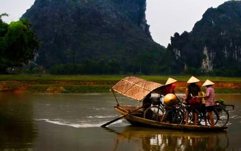 activity Balade en sampan