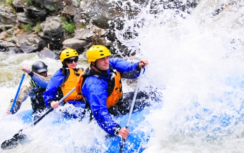 activity Rafting sur le rio Chiriqui