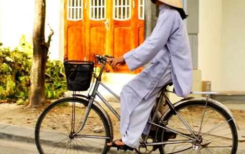activity Vélo jusqu'à Tra Que