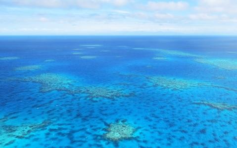 activity La Grande Barrière de Corail vue du ciel