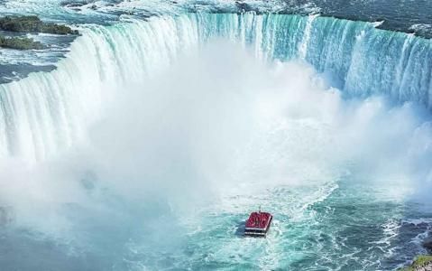 activity Chutes du Niagara en bateau