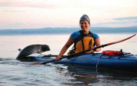 activity Kayak de mer au coucher de soleil - Havre-du-Bic