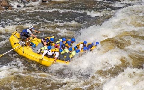 activity Rafting sur les rapides de Lachine