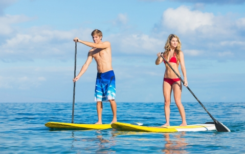 activity Initiation Stand up paddle