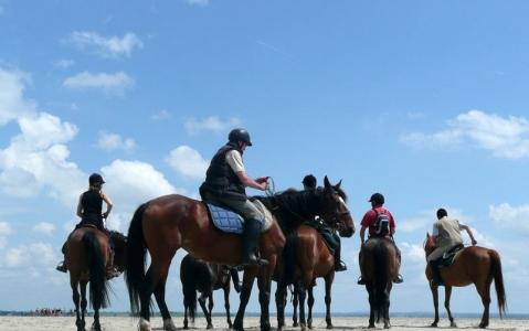 activity Balade à cheval au Cap Vert