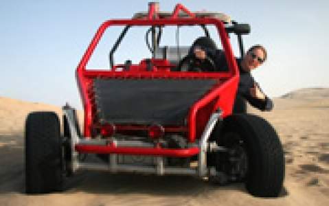 activity Buggy à Huacachina
